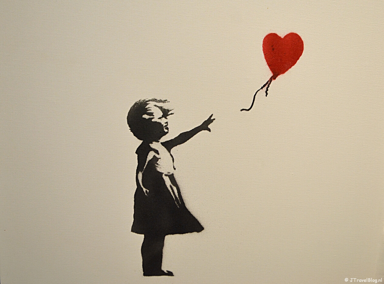 'Girl with Balloon' van Banksy