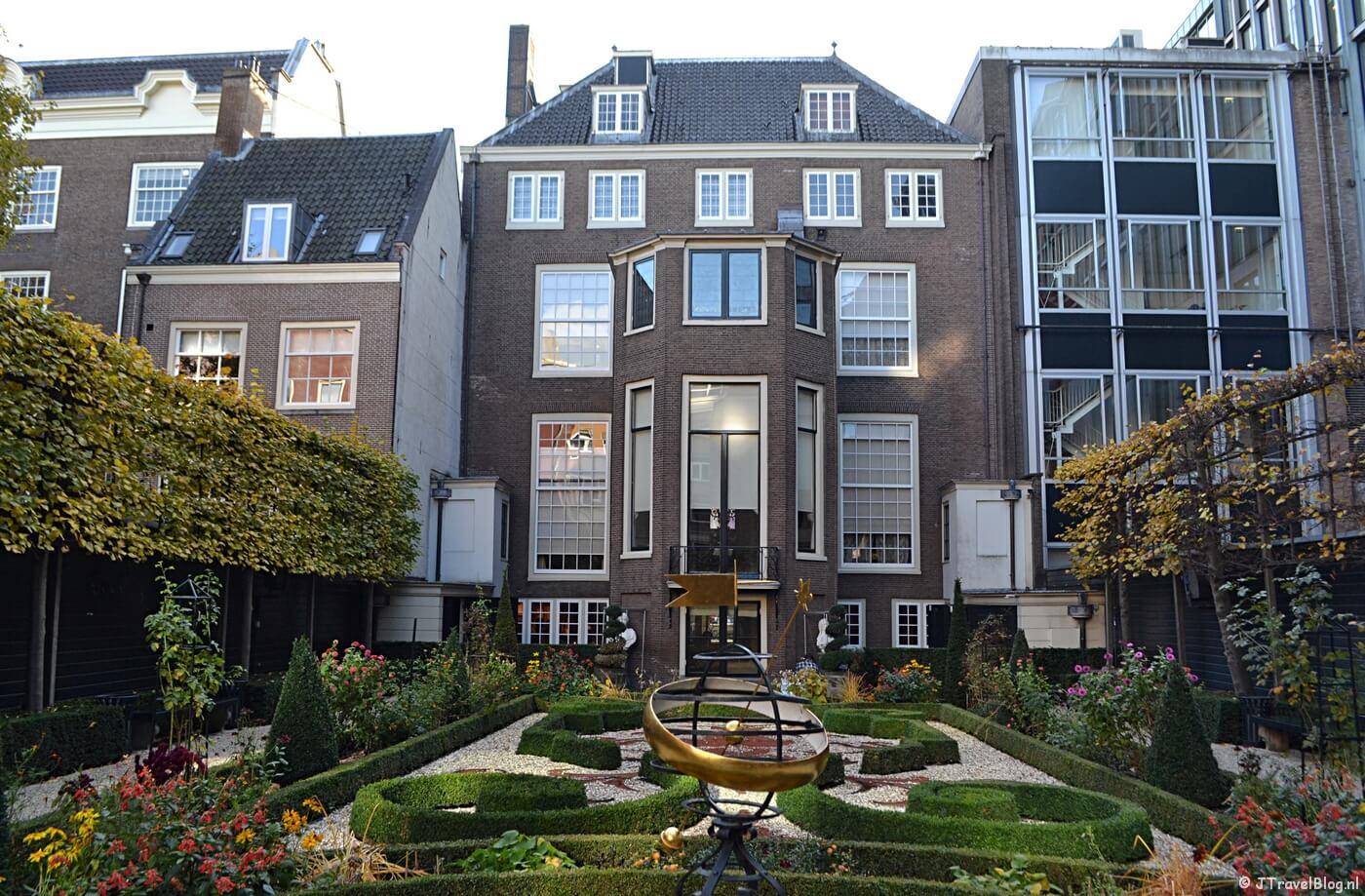 De tuin van Museum Willet-Holthuysen in Amsterdam