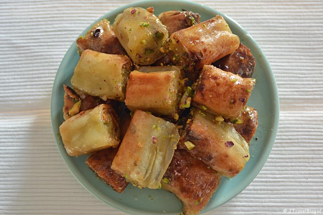 Recept : Baklava met pistache