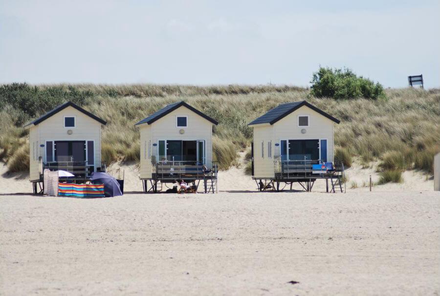 Beachhouse in Vrouwenpolder/Zeeland via Natuurhuisje.nl