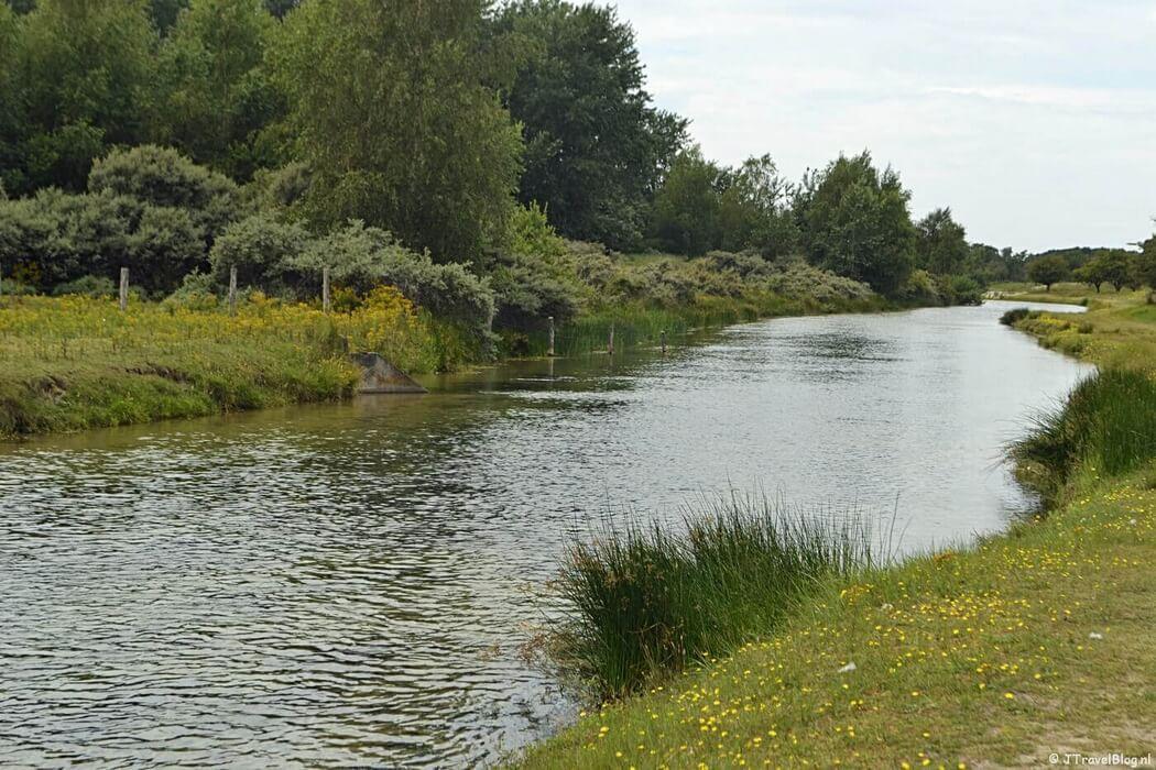 De natuur als je vanaf de ingang Panneland de Amsterdamse Waterleidingduinen inloopt