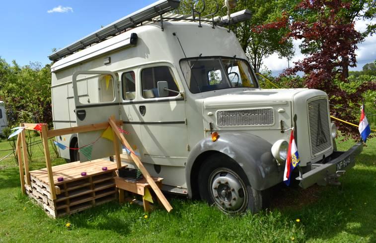 Brandweerwagen in Erp/Noord-Brabant via Natuurhuisje.nl