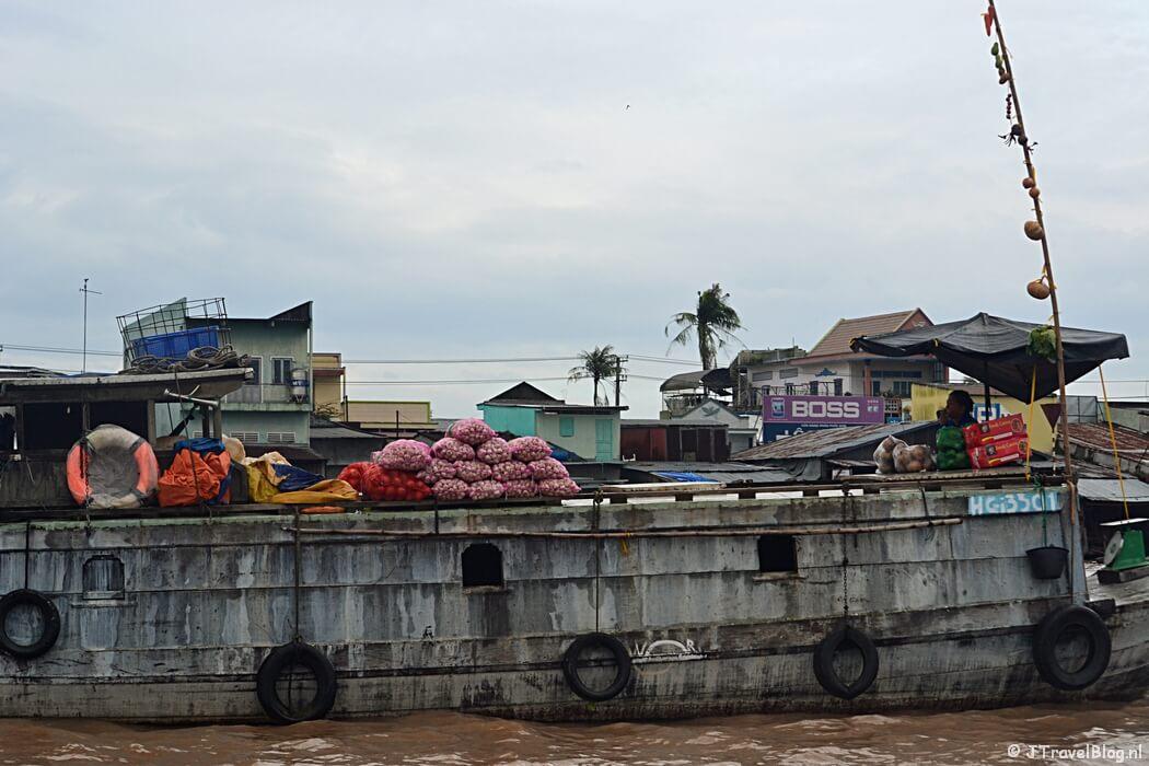 Een tegenvaller op reis: de Drijvende Markt in de Mekong Delta in Vietnam