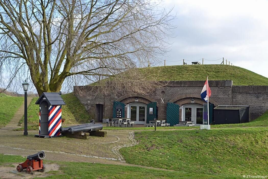Kazemat X in het Nederlands Vestingmuseum in Naarden