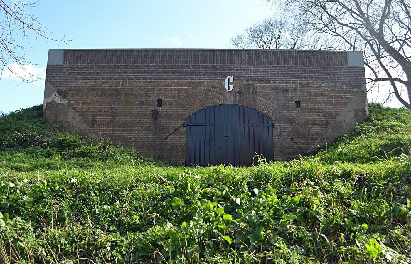 Fort C in Muiden