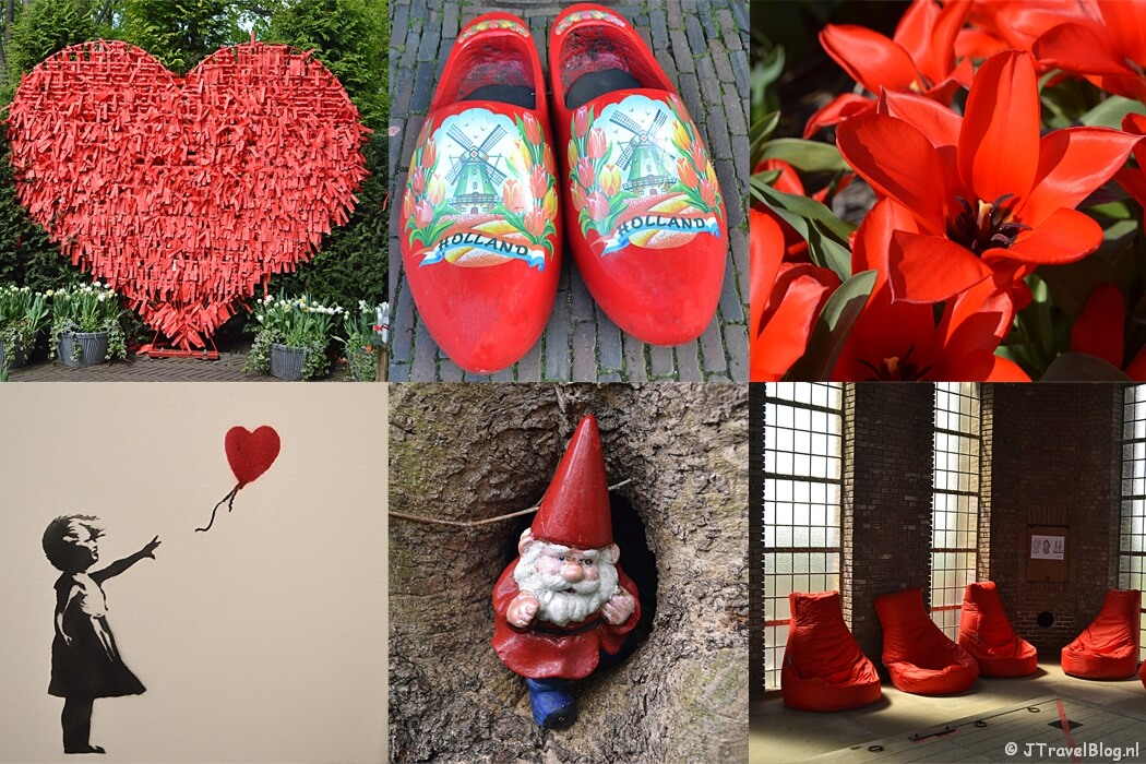 Fotoblog met rode foto's