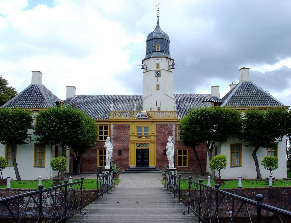Fraeylemaborg in Slochteren / Foto: Wikimedia Commons, By Gouwenaar - Own work, Public Domain (geen wijzigingen)