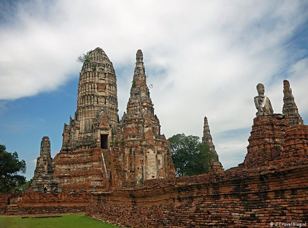 Historical Park in Ayutthaya in Thailand