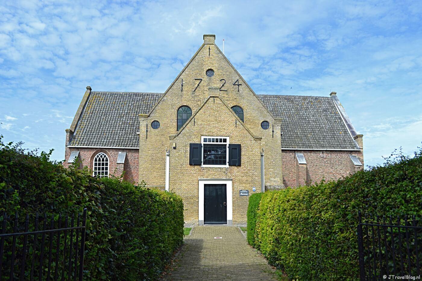 De Maartenskerk in Oosterend op Texel